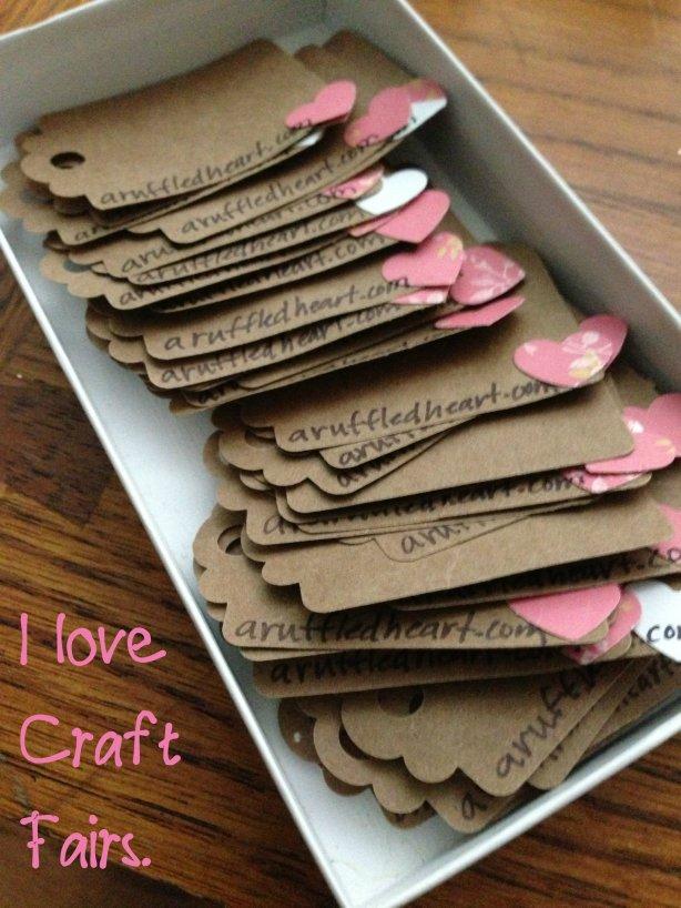 craft fair tags