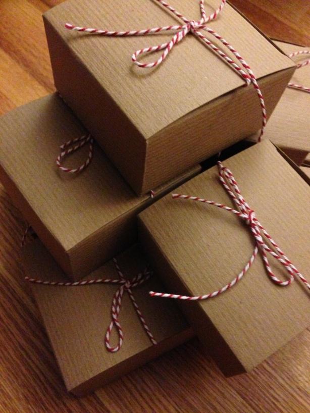 Craft Fair boxes
