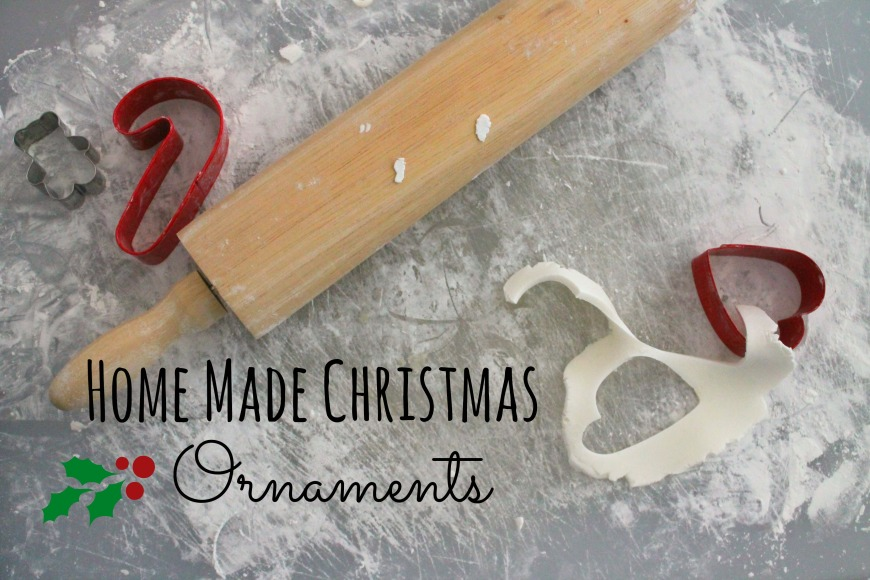 Christmas Ornaments: Salt vs. Cornstarch Dough