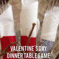 Valentine's Day: A Dinner Table Game and Contest